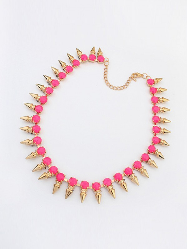 Occident Hyperbolic Conical Punk Simple Hot Sale Necklace