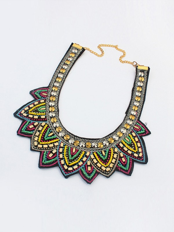 Occident Hyperbolic Ethnic Personality Hot Sale Necklace